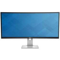 "Monitor LED DELL UltraSharp U3415W 34"" Curved, 3440x1440, 21:9, AH-IPS, 1000:1, 178/172, 6ms, 300cd/m2, VESA, DisplayPort, Mini"