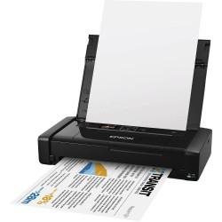 Epson WorkForce WF-100W, Inkjet Printers, MicroBusiness/Plain, Letter Legal, 2 Ink Cartridges, KcoL, Print, No, Plug & play (bui