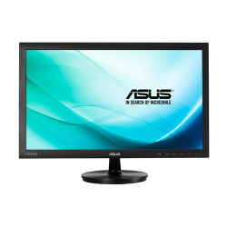 "Monitor 23.6"" ASUS VS247HR, FHD, TN, 16:9, WLED, 2 ms, 250 cd/m2, 170/160, 1000:1, HDMI, VGA,  DVI, VESA, , Black"