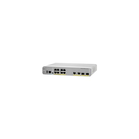 Cisco Catalyst 2960CX-8PC-L - Switch - Managed - 8 x 10/100/1000 (PoE+) + 2 x SFP + 2 x 10/100/1000 - desktop, rack-mountable, D