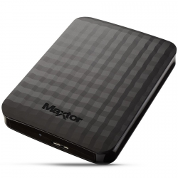 SEAGATE / MAXTOR HDD External M3 Portable (2.5'',1TB,USB 3.0) Black