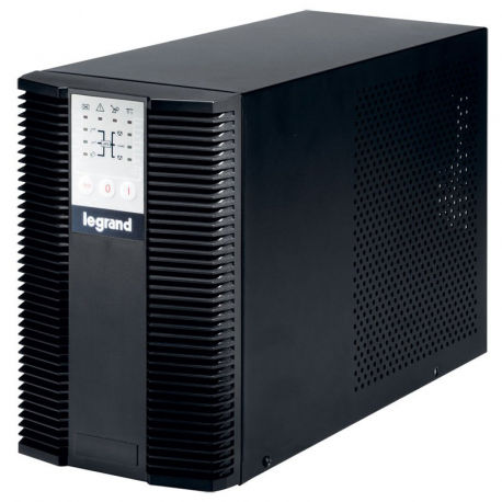UPS Legrand KEOR LP, Tower, 1000VA/900W, On Line Double Conversion, Sinusoidal, PFC, 1 RS232 serial port, 1 slot for networkinte