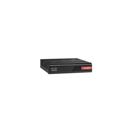Cisco ASA5506-SEC-BUN-K9 med with FirePOWER Services - 8 portar - GigE - Security Plus licens inkluderad