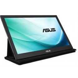 "Monitor portabil 15.6"" ASUS MB169C+, FHD 1920*1080, IPS, 16:9, WLED, 5 ms, 160/160, 180 cd/m2, 100M:1, USB, Dark grey"