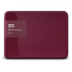 "EHDD 1TB WD 2.5"" MY PASSPORT RED"