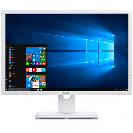 "Dell Monitor UltraSharp U2412M White (24"", 1920x1200, Pivot, HDCP Ready, LED Backlight, Swivel, Tilt, 1000:1, 2000000:1(DCR), 17"