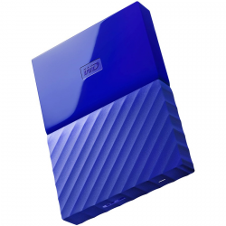 "HDD External WD My Passport (2.5"", 3TB, USB 3.0) Blue"