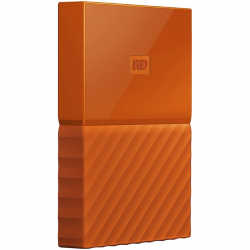 "HDD External WD My Passport (2.5"", 1TB, USB 3.0) Orange"