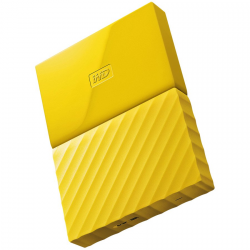 "HDD External WD My Passport (2.5"", 1TB, USB 3.0) Yellow"