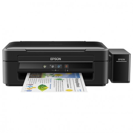 Epson L382, Inkjet Printers, Consumer/Multi-fuction/Ink tank system, Letter, 4 Ink Cartridges, KCYM, Print, Scan, Copy, Manual,