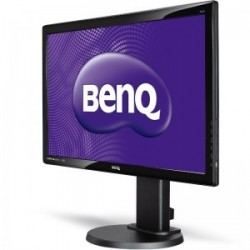 "Monitor 24"" BENQ GL2450HT, FHD, TN, 16:9, 1920*1080, LED, 2ms, 250 cd/m2, 170/160, 1000:1, Flicker Free, Low blue light, HDMI,"