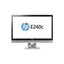 HP EliteDisplay E240c Video Conferencing Monitor - LED monitor - 23.8""