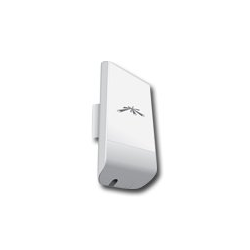 Ubiquiti NanoStation LocoM2, 2.4 GHZ, 8 dBi, 1 x 10/100 Ethernet Port, Power method - Passive Power over Ethernet , Outdoor UV S