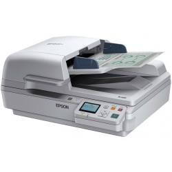 Epson WorkForce DS-7500N, Scanners, Letter, 1,200 dpi x 1,200 dpi (Horizontal x Vertical), Input: 48 Bits Color / 16 Bits Monoch