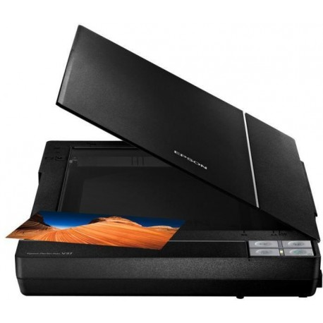 Epson Perfection V370 Photo, Scanners, A4, 4,800 DPI x 9,600 DPI (Horizontal x Vertical), 3.2 Dmax, Input: 48 Bits Color, Output