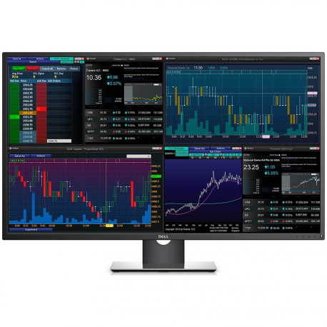 Monitor DELL Professional P4317Q 42.5'' Multi-Client, 3840 x 2160, UHD 4K, IPS Antiglare, 16:9, 1000:1, 350cd/m2, 8ms, 178/178,