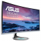 "Monitor 34"" ASUS MX34VQ, UWQHD, Curved, VA, 21:9, 3440x1440, 60hz, WLED, 5 ms, 300 cd/m2, 178/178, 3000:1, Harmon Kardon speake"