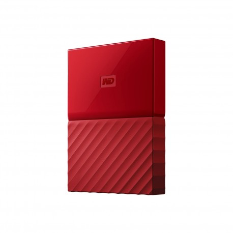 "EHDD 4TB WD 2.5"" MY PASSPORT RED"