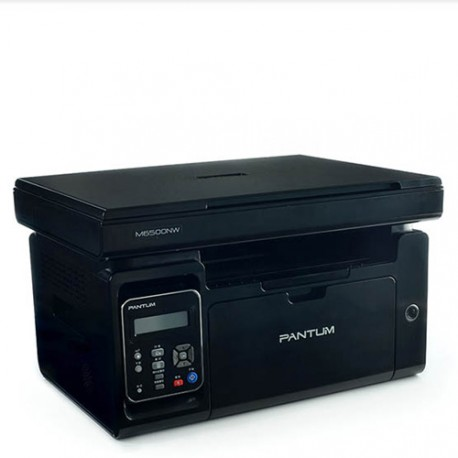 Pantum 22ppm MFP (scan, copy, print 3 in 1) cu networking, Wi-Fi