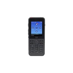 Cisco Unified Wireless IP Phone 8821 - Cordless extension handset - Bluetooth interface - IEEE 802.11a/b/g/n/ac (Wi-Fi) - SIP -