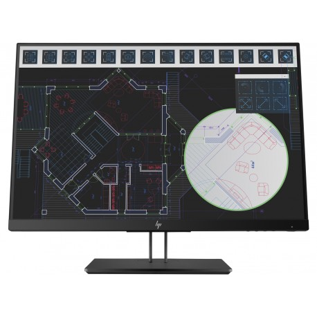 "HP Z24i G2, 24"", IPS, 1920 x 1200 @ 60 Hz, 5ms Gray to Gray, 16:10, 300 cd/m2, 1,000:1, tilt, swivel, pivot, 1xDisplayPort 1.2,"