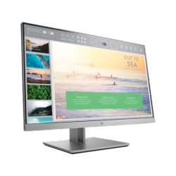 "HP EliteDisplay E233 Monitor, 23"", IPS w/LED, 1920 x 1080@60Hz, 16:9, 1,000:1, 250 cd/m2, 5ms, 178° orizontal/178° vertical, til"