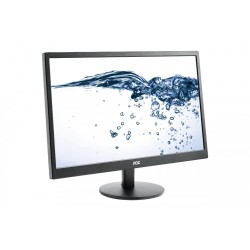 "Monitor 23.6"" AOC E2470SWDA, FHD 1920*1080, TN, 16:9, WLED, 5 ms, 250 cd/m2, 170/160, 100M:1/ 1000:1, VGA, DVI, VESA, Speakers,"