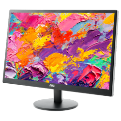 Monitor LED AOC E2270SWN (21.5'', 1920x1080, TN, LED Backlight, 1000:1, 20000000:1(DCR), 90/65, 5ms, VGA) Black