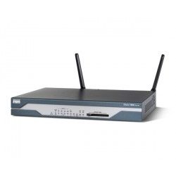 Cisco 1803 - Router - DSL modem - 8-port switch - WAN ports: 3