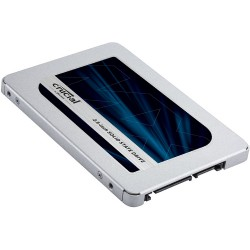 "CRUCIAL MX500 1TB SSD, 2.5"" 7mm (with 9.5mm adapter), SATA 6 Gbit/s, Read/Write: 560 MB/s / 510 MB/s, Random Read/Write IOPS 95K"