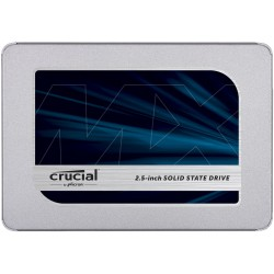 "CRUCIAL MX500 2TB SSD, 2.5"" 7mm (with 9.5mm adapter), SATA 6 Gbit/s, Read/Write: 560 MB/s / 510 MB/s, Random Read/Write IOPS 95K"
