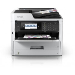 WorkForce Pro WF-C5710DWF, Inkjet Printers, Business Inkjet/Multi-fuction/Business, C4 (Envelope), 4 Ink Cartridges, KCYM, Print