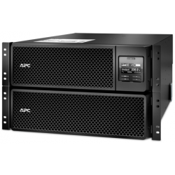 APC Smart-UPS SRT 8kVA/8kW, 230V, RM 6U, Double Conversion Online, Extended runtime model, card AP9631, 3 years warranty for UPS