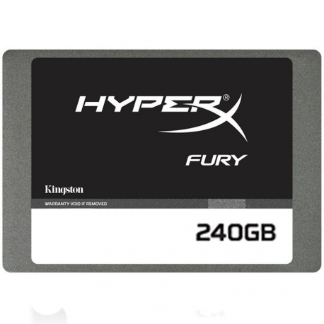 Kingston 240GB HyperX FURY SSD SATA 3 2.5 (7mm height), EAN: 740617232479