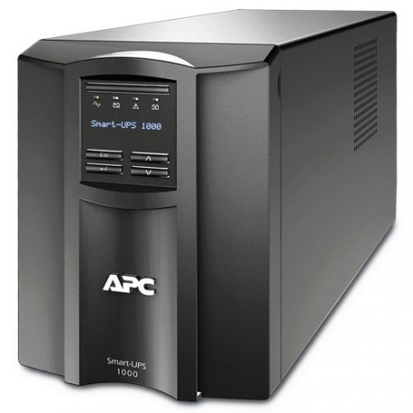 APC Smart-UPS 1000VA/700W line interactive LCD 230V with SmartConnect, 3 years warranty for UPS, only 2 years warranty for batte