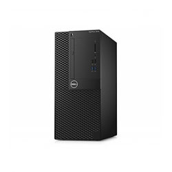 Dell Optiplex 3060 MiniTower, Intel Core i3-8100 (6MB Cache, 3.6GHz), 4GB (1x4GB) DDR4 2666MHz, 256GB(M.2)  SATA, Intel Graphics
