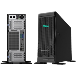 HPE ProLiant ML350 Gen10 Base - tower - Xeon Silver 4110 2.1 GHz - 16 GB - no HDD