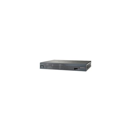 Cisco 888 G.SHDSL Router with ISDN backup - Router - DSL - 4-port switch