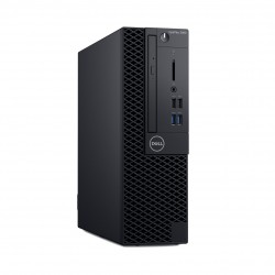 Dell Optiplex 3060 SFF, Intel Core i3-8100 (6MB Cache, 3.6GHz), 8GB (1x8GB) DDR4 2666MHz, 256GB(M.2)SSD, Intel Graphics, DVD+/-R