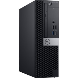 Dell Optiplex 5060 SFF, Intel Core i5-8500 (9MB Cache, 4.1GHz), 8GB (2x4GB) DDR4 2666MHz,128GB(M.2)SSD,DVD+/-RW, Intel Graphics,
