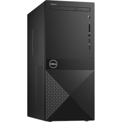 Dell Vostro Desktop 3670, Intel Core i5-8400, 8GB (1x8GB) DDR4 2666MHz, 256GB SSD, Intel Graphics, DVD+/-RW, WiFi 802.11bgn, BT
