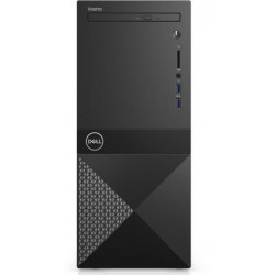 Dell Vostro Desktop 3670, Intel Core i7-8700, 8GB (1x8GB) DDR4 2666MHz, 1TB 7200RPM, Intel Graphics, DVD+/-RW, WiFi 802.11bgn, B