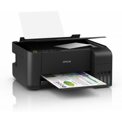 Epson L3110, Inkjet Printers, Consumer/Multi-fuction/Ink tank system, Letter, 4 Ink Cartridges, KCYM, Print, Scan, Copy, Manual,