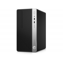 HP ProDesk 400 G5 MT, Intel Core i7-8700, 8GB, 256GB M.2 PCIe NVMe, DVD-RW, USBkbd, mouseUSB, HP DisplayPort Port, GLD310W, W10p