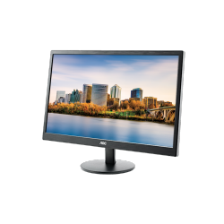 AOC Monitor LED M2470SWH (23.6'', 16:9, 1920x1080, MVA, 250 cd/m2, 50M:1, 5 ms, 178/178°, VGA, 2x HDMI, Speakers, Tilt: -5 to +2