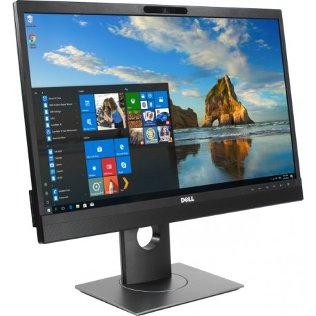 "Monitor LED DELL Professional P2418HZM 23.8"" video conferencing, 1920x1080, 16:9, IPS, 1000:1, 178/178, 6ms, 250 cd/m2, VESA, VG"