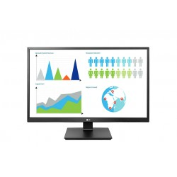Monitor LED LG 24BK550Y-B 23.8'', 1920x1080, IPS, 1000:1, 5M:1, 178/178, 5ms, 250cd, VGA, DVI, HDMI, DisplayPort, speakers 2x1.2