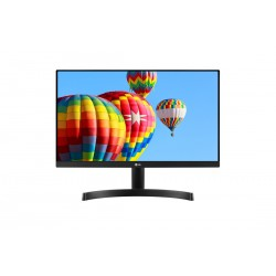 Monitor LED LG 24MK600M-B 23.8'' FreeSync, IPS, 1920x1080, 250cd, 1000:1, 5ms, AntiGlare, VGA, 2HDMI, Audio out, VESA