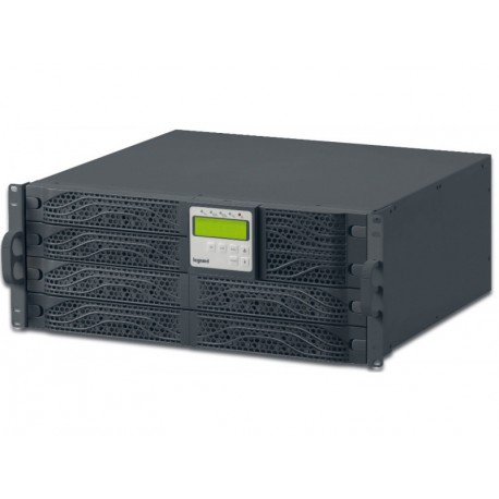 UPS Legrand DAKER DK + Tower/Rack, 6000VA/6000W, On Line Double Conversion, Sinusoidal, PFC, USB & RS232 port, 8x IEC C13 & 2x I