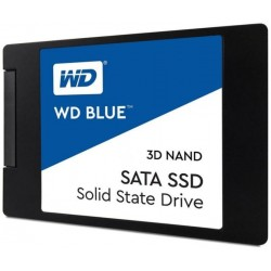 "SSD WD Blue (2.5"", 500GB, SATA III 6 Gb/s, 3D NAND Read/Write: 560 / 530 MB/sec, Random Read/Write IOPS 95K/84K)"